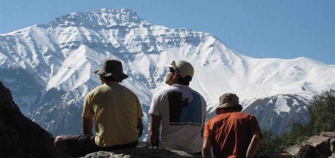 Escalada em rocha no Chile | + neve e água caliente | Rio Caminhadas.com.br